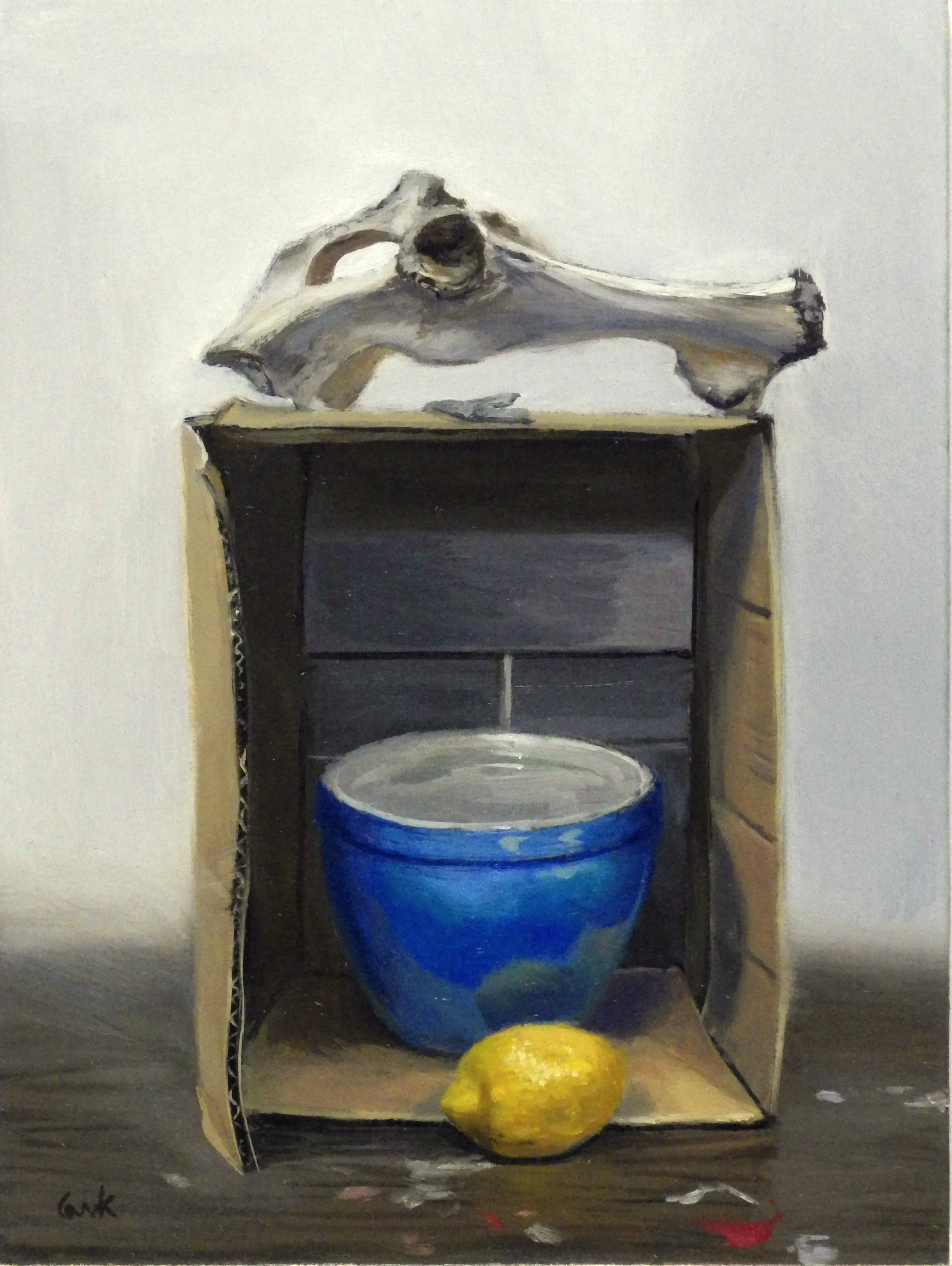 Bone, Box, Bowl, Lemon